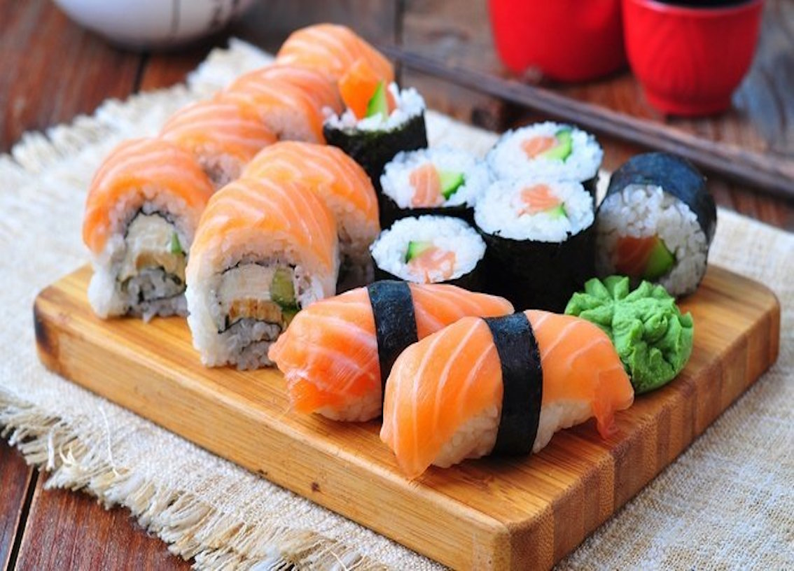 The best sushi places in Krakow